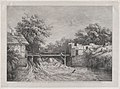 The Watermill, after a painting by Ruisdaël MET DP874596.jpg