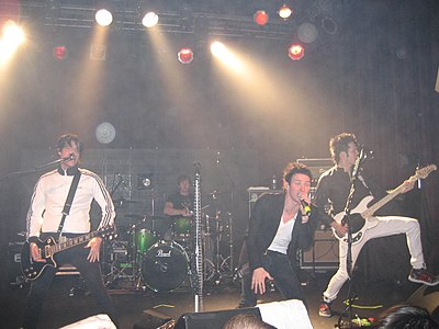 Picture of a band or musician: The White Tie Affair