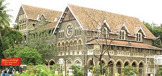 Wilson College, Mumbai - The Wilson College at Girgaum Chowpatty, Mumbai