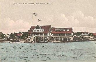 Annisquam, Massachusetts - Image: The Yacht Club House, Annisquam, MA
