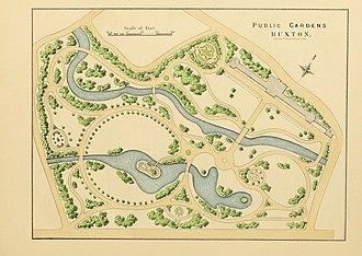 Edward Milner - Milner's design for Buxton Pavilion Gardens