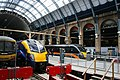 The big line up- all ECML (south) four train operators at King's Cross. - panoramio.jpg
