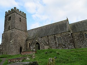 East and West Buckland - The church of St Michael at East Buckland
