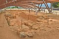The crypt Agora with roof from West in Malia Crete.jpg