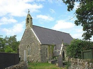 Llanddaniel Fab Human settlement in Wales