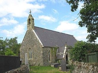 Llanddaniel Fab - Image: The former St Deiniol's Church, Llanddaniel Fab
