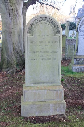 James Ormiston Affleck - The grave of James Ormiston Affleck, Dean Cemetery, Edinburgh