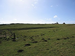 Barrow, Shropshire - Site of Arlescott village.