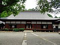 The main hall of a Buddhist temple of the Hokoji-temple.JPG