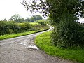 The minor road that goes up Sherburn Brow - geograph.org.uk - 222575.jpg