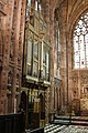 The organ in the Church of the Holy Angels, Hoar Cross.jpg