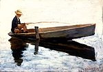 Theodore Robinson - Boy in a Boat Fishing.jpg
