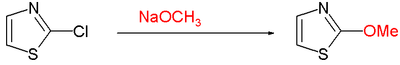 Thiazole Nucleophilic Aromatic Substitution
