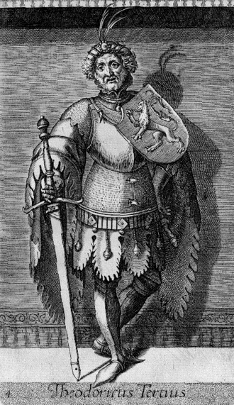 Dirk III, Count of Holland - Dirk III as imagined in the 16th century