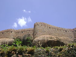 Thirumayam fort.JPG