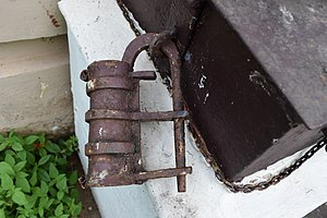 Lock (security device) - Ancient Lock from Kerala
