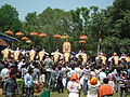 Thiruvambadi varav during Thrissur Pooram 2013 7306.JPG