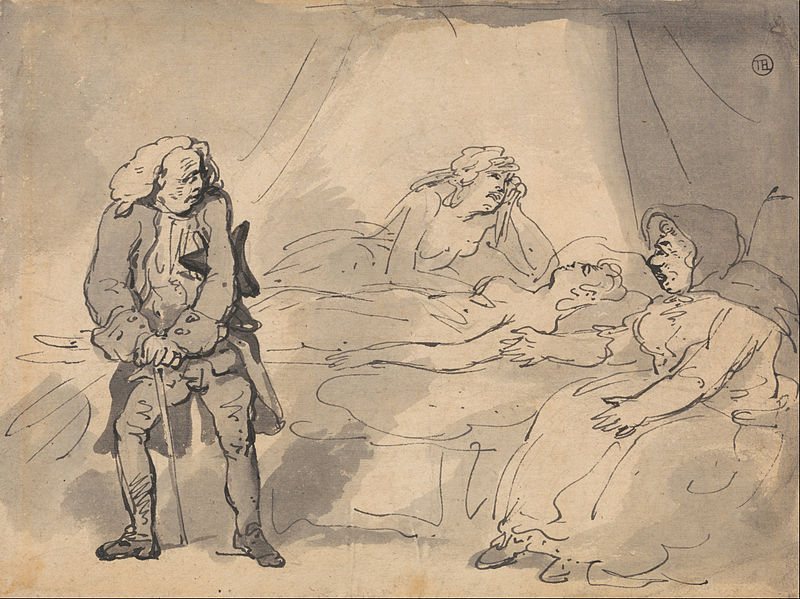 File:Thomas Rowlandson - A Death-Bed Scene - Google Art Project.jpg