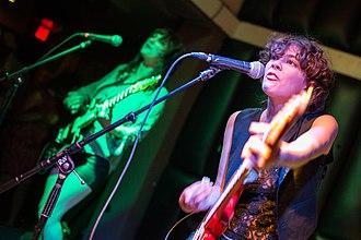 Those Darlins - Those Darlins performing in San Diego in 2014