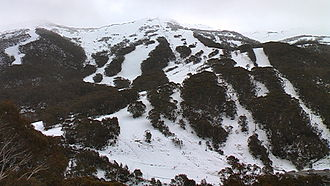 Thredbo, New South Wales - Image: Thredbo July 2011