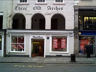 Chester Rows - Three Old Arches