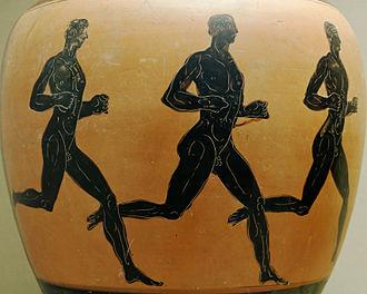 Athlete - Runners, ceramics, S. IV a.C.
