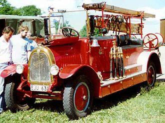Tidaholms Bruk - Tidaholm Fire Engine 1927