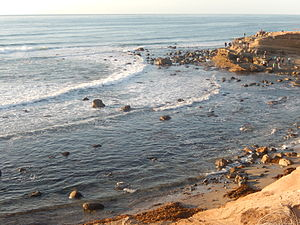 Cabrillo National Monument - Image: Tidal pools at Cabrillo National Monument DSCN0429