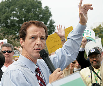 Americans for Prosperity - AFP president Tim Phillips speaking at an AFP health care rally next to the United States Capitol in October 2009