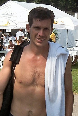 Tim Henman, English tennis player.