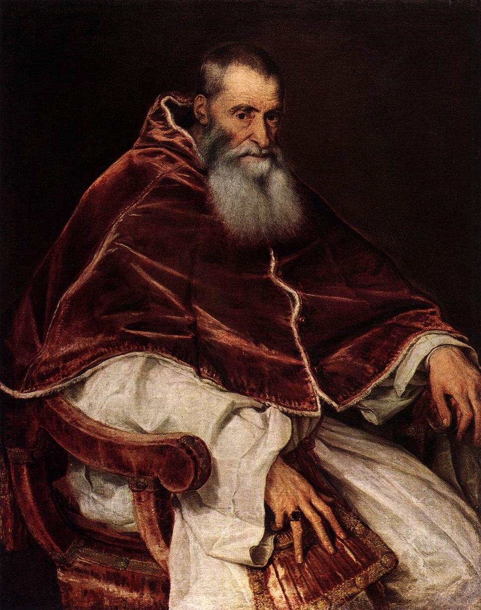 Titian - Pope Paul III - WGA22962