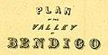 Title from Plan of Valley of Bendigo in 1858 by R.W. Larritt.jpg