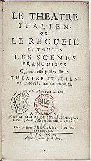 <i>Comédie en vaudevilles</i> theatrical entertainment which began in Paris towards the end of the 17th century