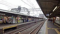 Tobu-Nerima Station platform 1 down end 20160215.JPG