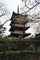 Tokyo - Five-storied pagoda of the former Kan-Eiji Temple 01 (15133034693).jpg