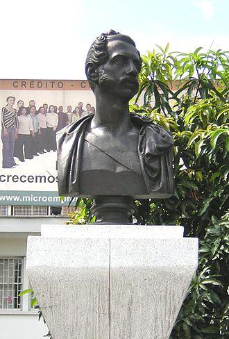 Tomás Cipriano de Mosquera - Bust of Tomas Cipriano de Mosquera, in Medellín, Colombia
