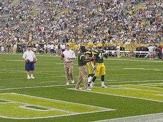 2003 Green Bay Packers season - Image: Tony Fisher