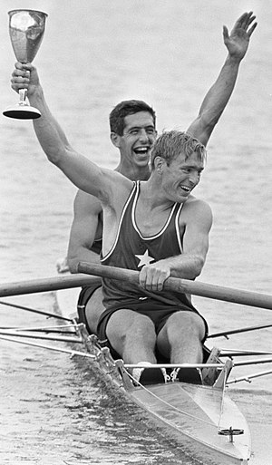 Larry Hough - Johnson and Hough (right) in 1968