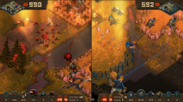Tooth and Tail - Splitscreen screeshot.png