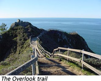 Muir Beach Overlook - Image: Top of Muir Beach Overlook