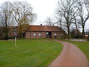 Lengerich, Lower Saxony - Gatehouse of the former Burg Lengerich