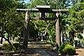 Torii of Ami-jinja Shrine (nakago,Ami town, Ibaraki prefecture).jpg
