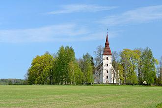 Jõgeva County - Image: Torma kirik 3