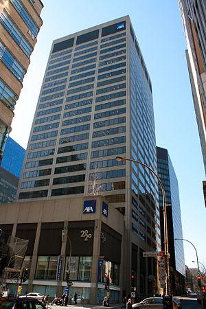 AXA Center (Montreal) - Image: Tour AXA Montreal