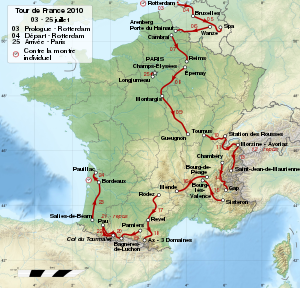 Tour de France 2010 map-fr.svg