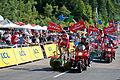 Tour de France 2012 -Caravane cyclistes.jpg