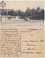 Tourcoing, square de l'Hôtel de Ville, Brief von einem deutschen Soldaten aus dem Ersten Weltkrieg.jpg