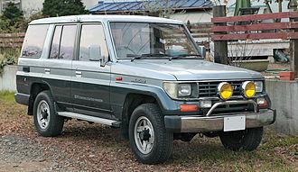 Toyota Land Cruiser Prado - Prado semi long (LJ78G, Japan)