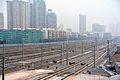 Tracks on the east of Ningbo Railway Station.jpg