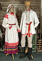 Traditional summer clothing of Belarusian peasants - XIXth cent - Museum of Belarusian Folk Art.jpg